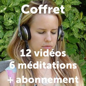 Coffret méditations centrées sur l'intention