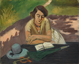 """Photo: Henri Matisse, """"Donna che legge con cappello"""" (1921)"""