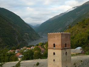 Photo: Kaukázusi őrtorony. Ilisu völgyzáró őrtornya.