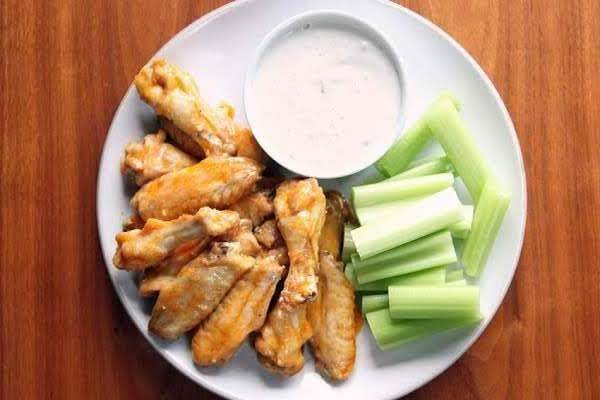 Buffalo Chicken Wings With Chunky Gorgonzola Chees Recipe