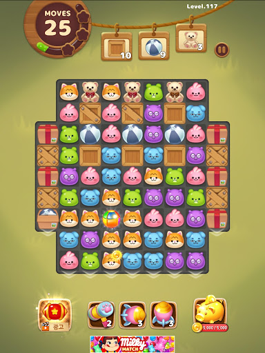 Candy Friends Forest : Match 3 Puzzle 1.1.4 screenshots 24