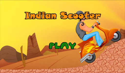 Indian Scooter Hill Climb