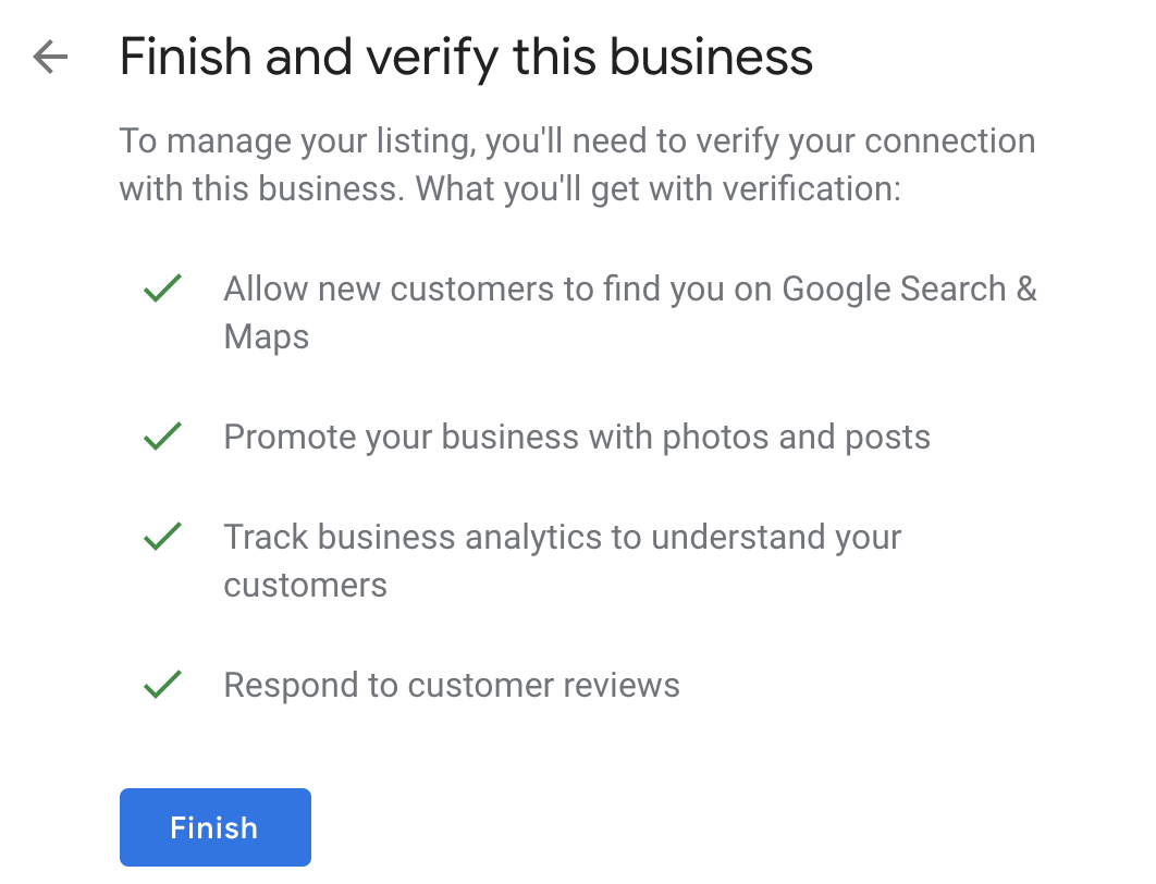 verifying someone else's business on google my business