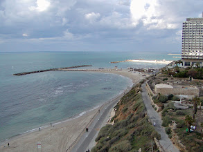 Photo: The Mediterranean at Tel Aviv from the hotel room