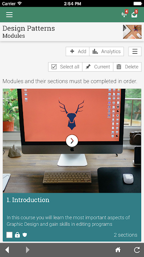 New London Hosp. eLearning  screenshots 2