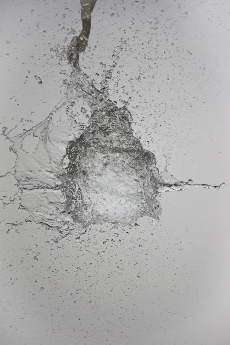 Esplosione d'acqua di marcoman