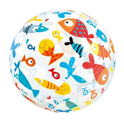 pelota inflable estampada intex
