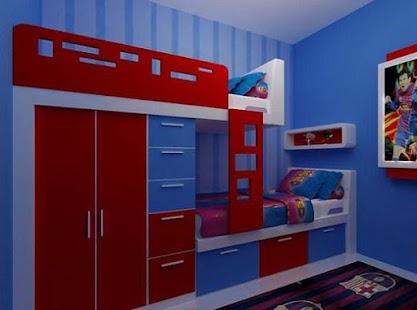 Simple Children Bedroom - náhled