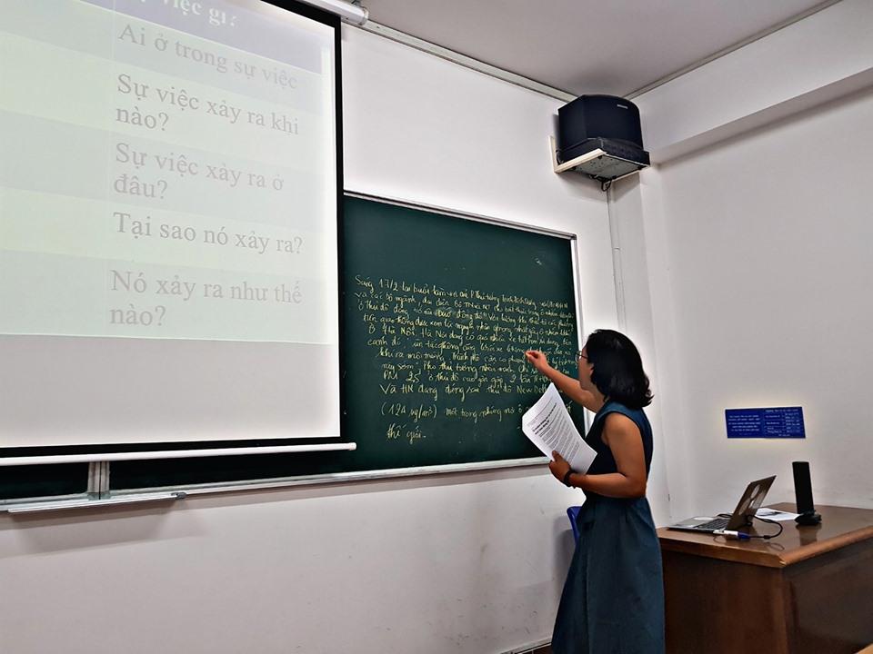 Sinh viên Khoa Dược nâng cao kỹ năng viết tin và làm báo với nhà báo Khải Đơn