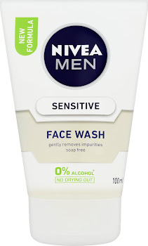 Nivea Men Face Wash - Sensitive, 100ml
