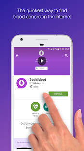 Find Blood Donors- screenshot thumbnail
