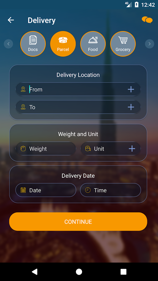 TELEPORT- Logistics & Supply Chain Management App- screenshot