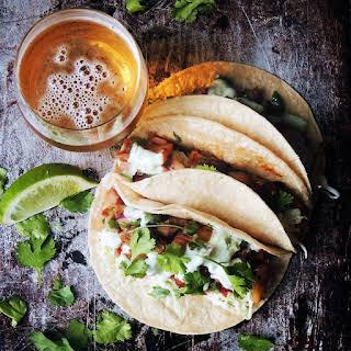 Slow Cooker Kalua Pork Tacos.