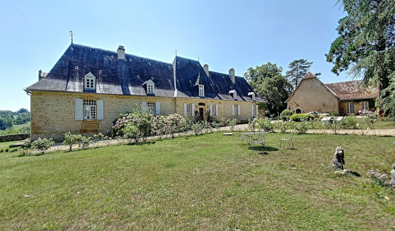 House with pool Paunat