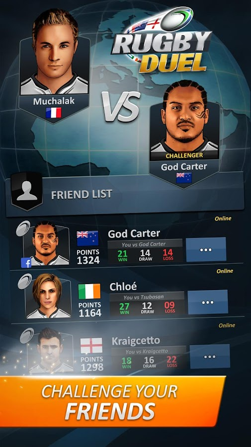 RUGBY DUEL- screenshot