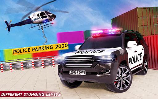 Spooky Stunt Crazy Police Parking 2020 0.1 screenshots 18