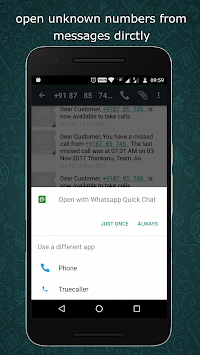 Download Quick Chat by Gomi Tech Apps APK latest version app for