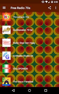 Free Radio 70s Music Disco Pop And More