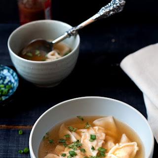 Chicken Wonton Soup.