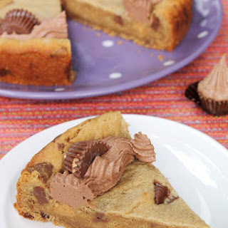 Reese's Peanut Butter Cookie Cake