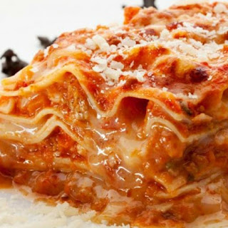 Five Ingredient Chicken Parmesan Lasagna (Slow Cooker or Stove)