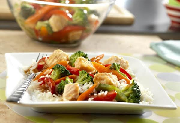 Chicken Stir-fry So Easy