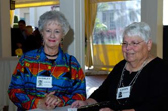 Photo: Shirley Burgess Vanderbeck and Karen Wingard