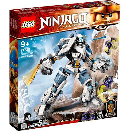 Lego Ninjago Zanes titanrobotstrid