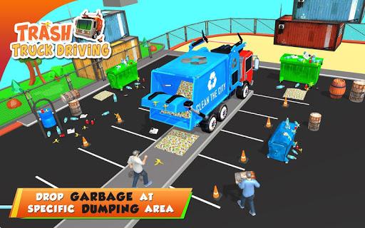 Urban Garbage Truck Driving - Waste Transporter 1 screenshots 13