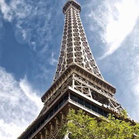 Paris Paris Hotel by Jim Antonicello - Buildings & Architecture Office Buildings & Hotels ( las vegas, eiffel tower, paris, hotel )