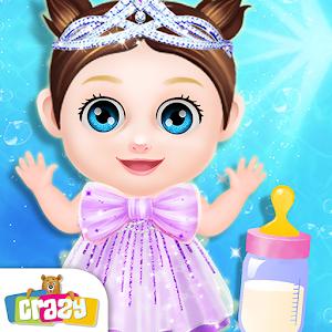 Princess Baby Girl Daycare - NewBorn Baby