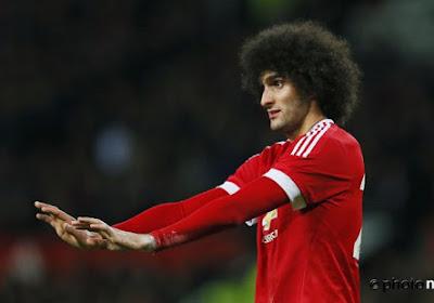 Wilmots invite Fellaini à réfléchir à un départ de Manchester United