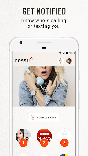 Fossil Q  screenshots 4