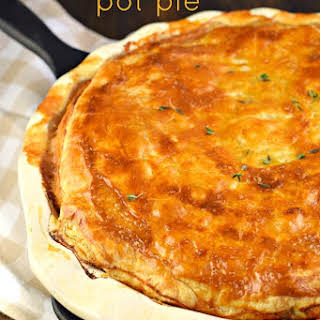 Jambalaya Chicken and Sausage Pot Pie.