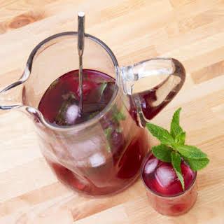 Hibiscus Rum Cooler.