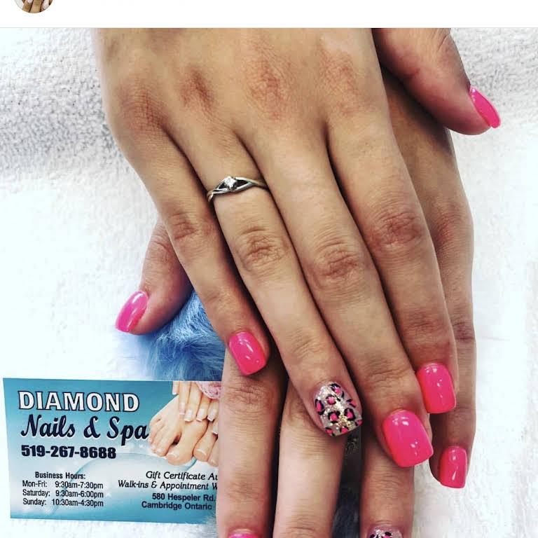 Diamond Nails And Spa Nail Salon In Bridge