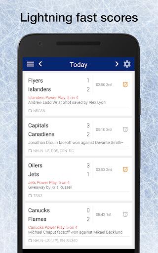Wild Hockey: Live Scores, Stats, Plays, & Games 8.0.2 screenshots 1
