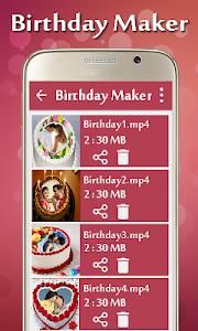 Birthday Video Maker screenshot 6