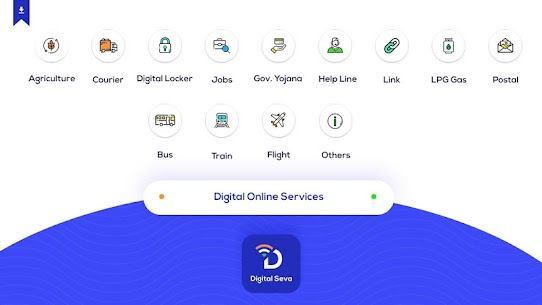 Online Seva Digital Services India App Download For Android and iPhone 2