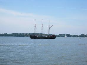 Photo: Three-masted schooner on Lake Ontario