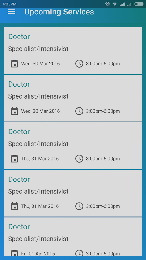 Arooj Health Care- screenshot