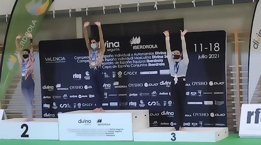 El Club Deportivo Purpurina cierra su temporada con 5 podiums nacionales