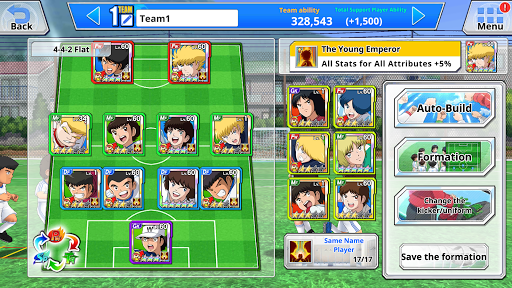 Captain Tsubasa ZERO -Miracle Shot- apklade screenshots 2