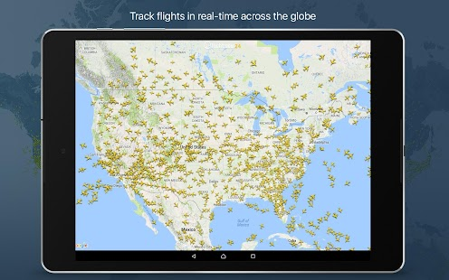 Flightradar24 Flight Tracker: miniatura de captura de pantalla
