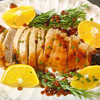 Citrus Rosemary Glazed Turkey Breast