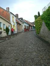 Photo: et sa rue pavée qui mène au gîte, non-flandrien s'abstenir