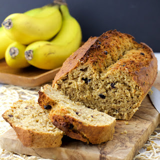 Banana, Blueberries and Yogurt Bread.