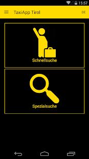 TaxiApp Tirol - náhled