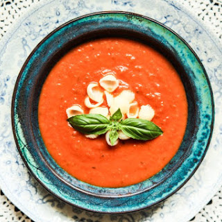 Quick Tomato and Basil Soup