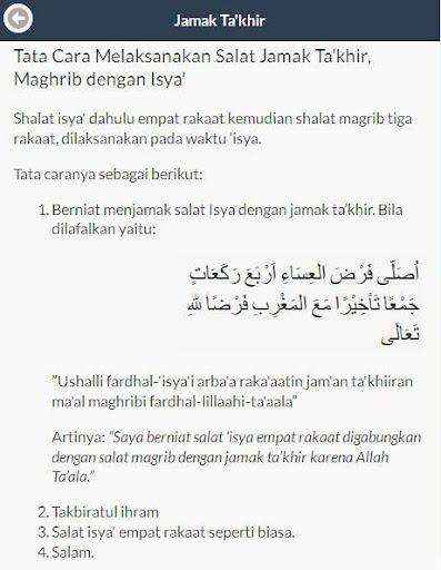 Cara Shalat Jamak Qashar Apk Download Apkpure Ai